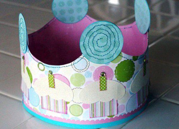корона из бумаги своими руками фото 9