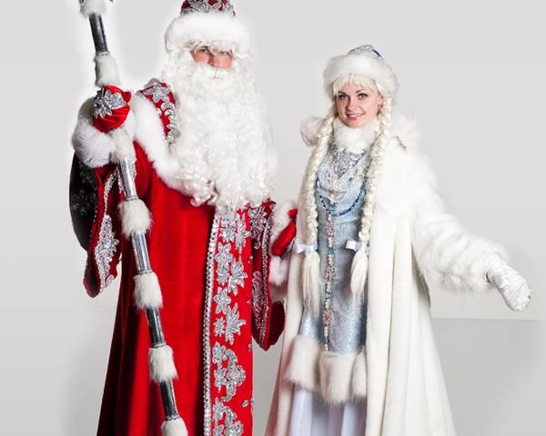 Костюм Деда Мороза и Снегурочки своими руками фото