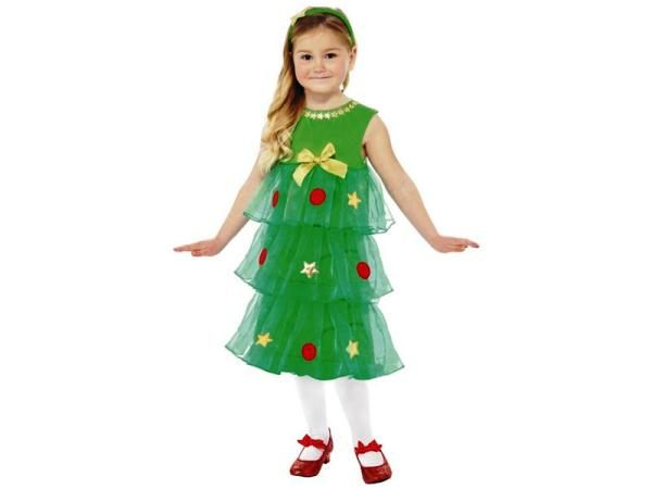 костюм елочки для девочки на новый год фото 10