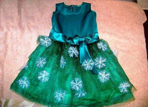 костюм елочки для девочки на новый год фото 2