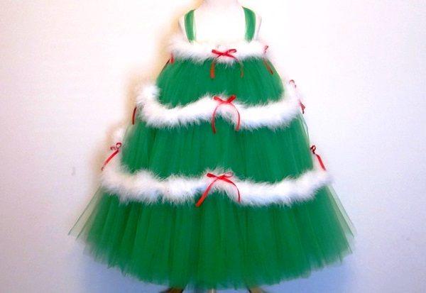 костюм елочки для девочки на новый год фото 6