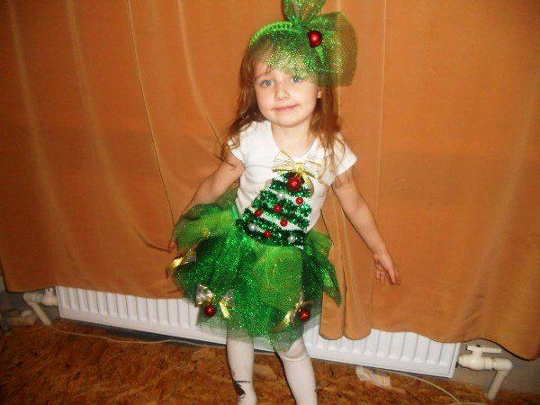 костюм елочки для девочки на новый год фото 7