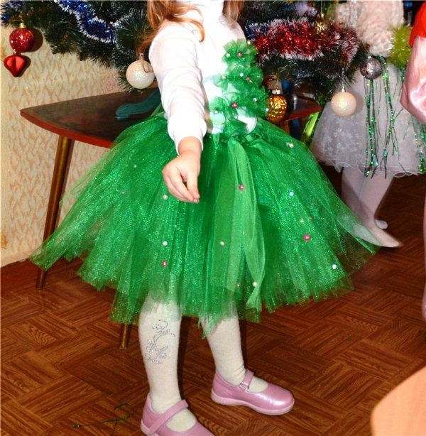 Новогодний костюм елочка фото