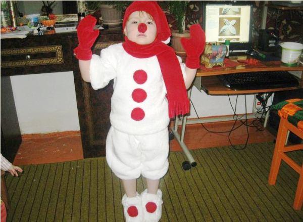 костюм снеговика фото 11