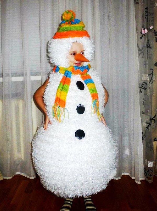 Костюм снеговика фото 2