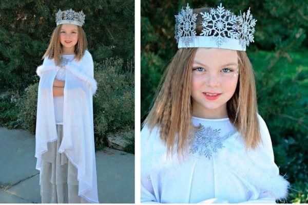 Современный костюм снегурочки фото