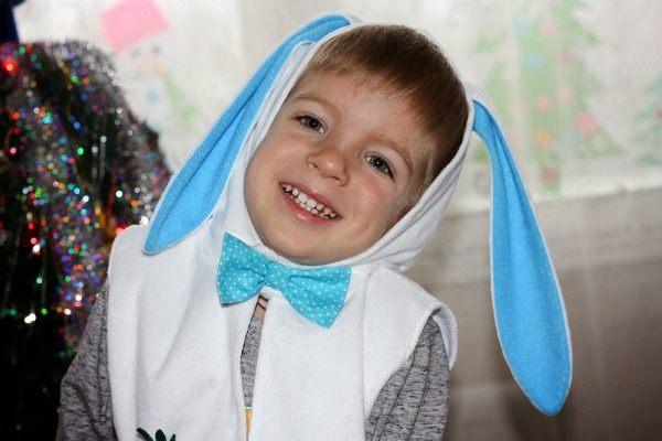Костюм зайчика фото для мальчика
