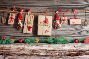 новогодний адвент календарь для детей своими руками