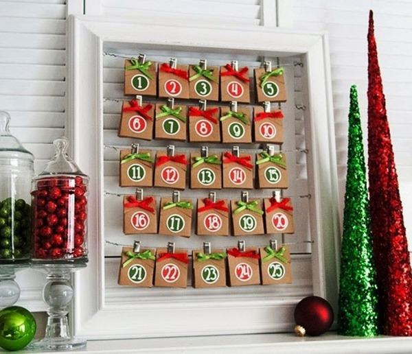 новогодний адвент календарь фото 2