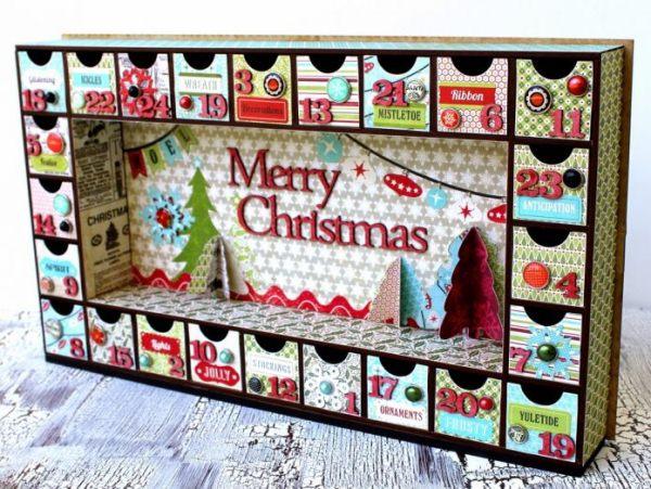 новогодний адвент календарь фото