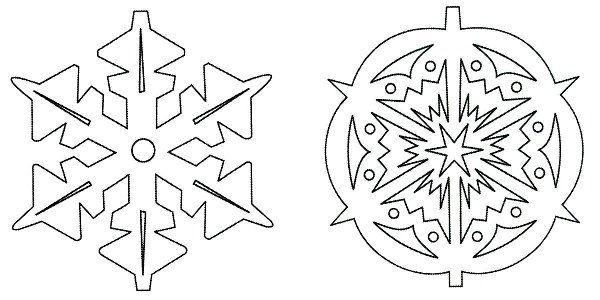 объемная снежинка из бумаги фото 6