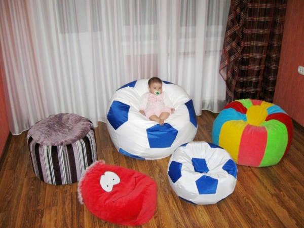 детское кресло мешок своими руками