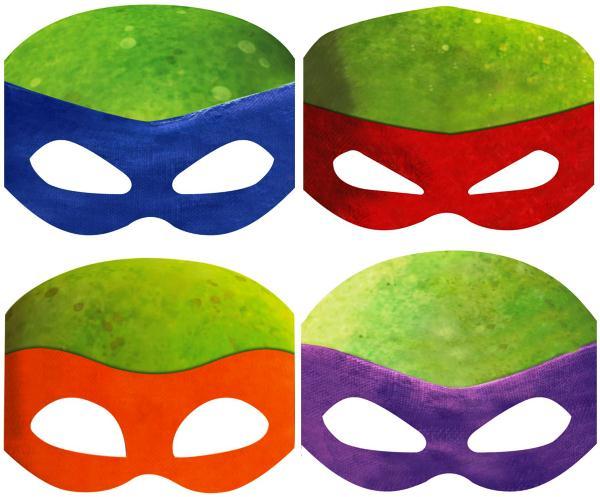 маски из бумаги фото 13