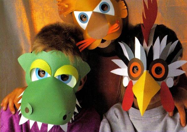 маски из бумаги фото 15