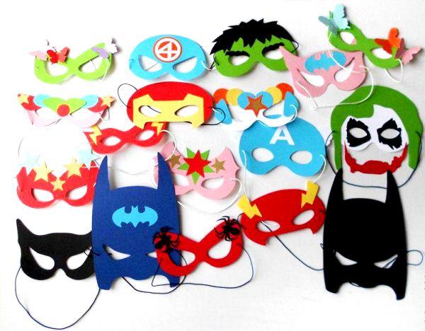 маски из бумаги фото 2