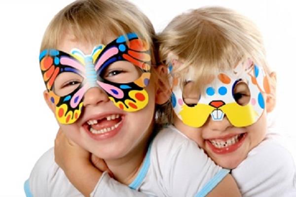 маски из бумаги фото 3