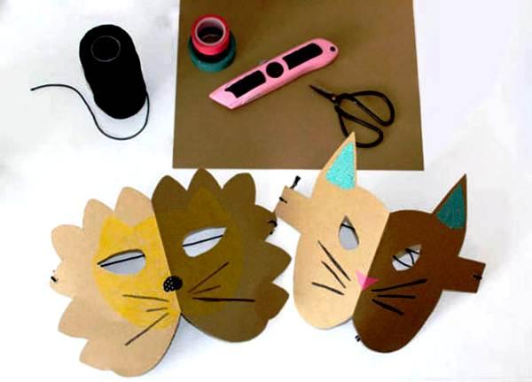 маски из бумаги фото 5