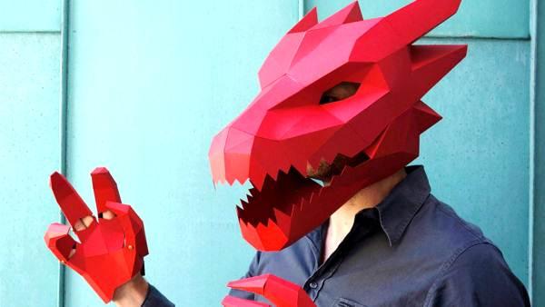 маски из бумаги фото 6