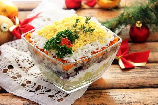 Салат мимоза рецепт с фото очень вкусный