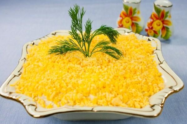 Салат мимоза рецепт классический рецепт пошаговый с фото