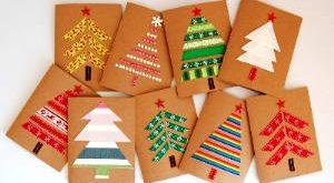 открытки на новый год своими руками фото