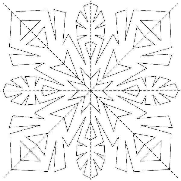 снежинки из бумаги фото 18