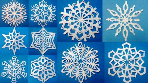 снежинки из бумаги фото 2