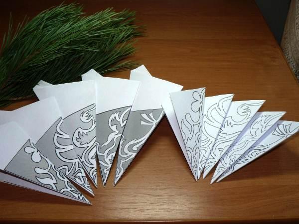 снежинки из бумаги фото 7