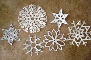 снежинки из бумаги шаблоны для вырезания распечатать
