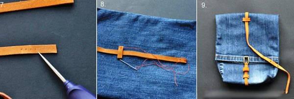 сумка из старых джинсов своими руками фото 14