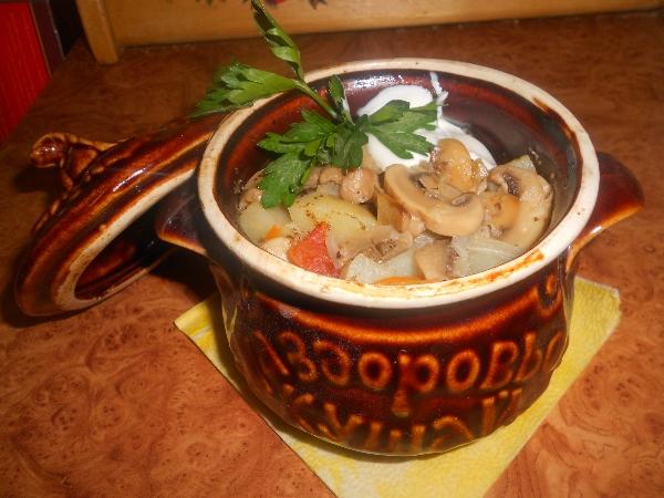 Вторые блюда в горшочках рецепты с фото
