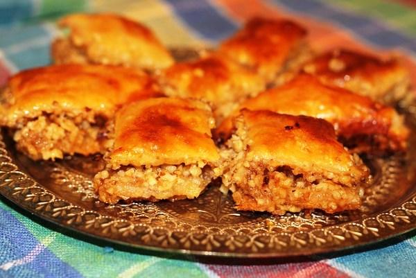 Пахлава турецкая рецепт с фото пошагово