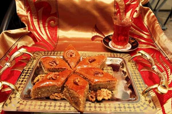 Пахлава бакинская пошаговый рецепт с фото