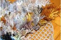 коврик на сетке из ниток своими руками