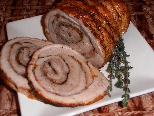 мясной рулет в духовке фото