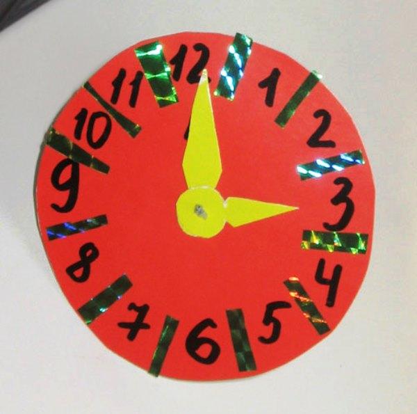 Часы своими руками фото 10