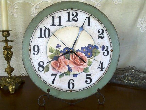 Часы своими руками фото 8