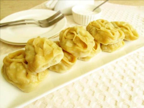 Манты с картошкой пошаговый рецепт с фото