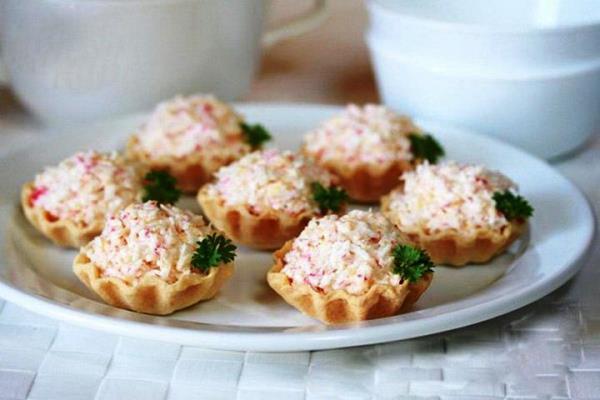 Тарталетки с начинкой простые и вкусные рецепты с фото