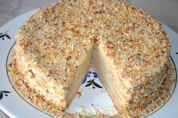 Торт Наполеон фото 13