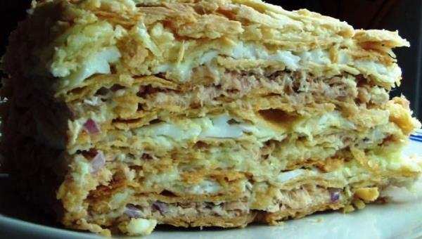 Торт Наполеон фото 6