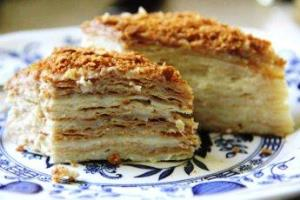 торт наполеон пошаговые рецепты с фото