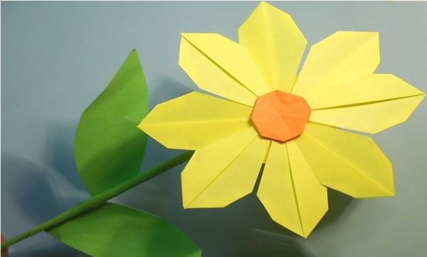 цветы из бумаги фото 10