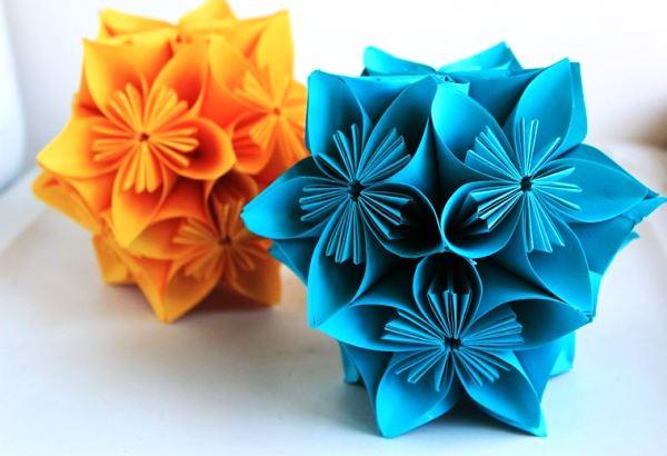 цветы из бумаги фото 12