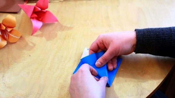 цветы из бумаги фото 7