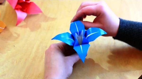 цветы из бумаги фото 9