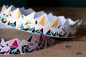 как сделать корону из бумаги своими руками