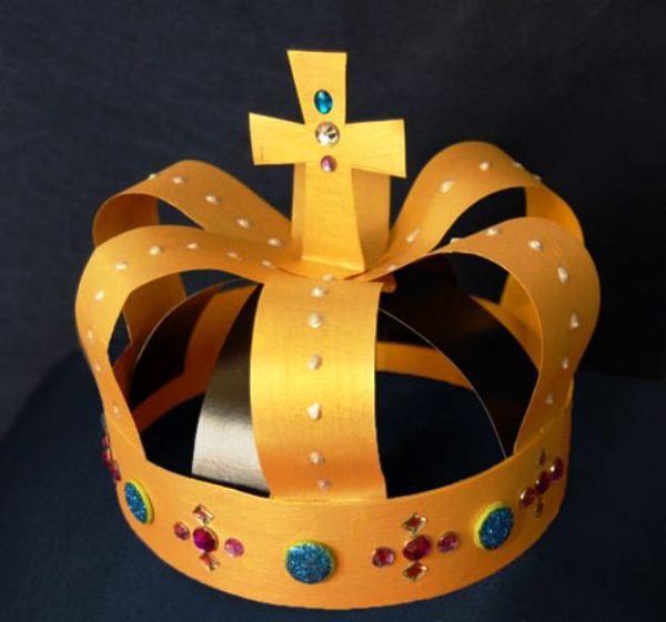 корона из бумаги своими руками фото 10
