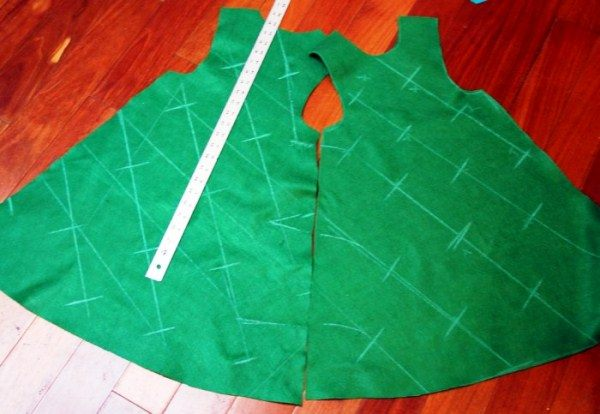 костюм елочки для девочки на новый год фото 14