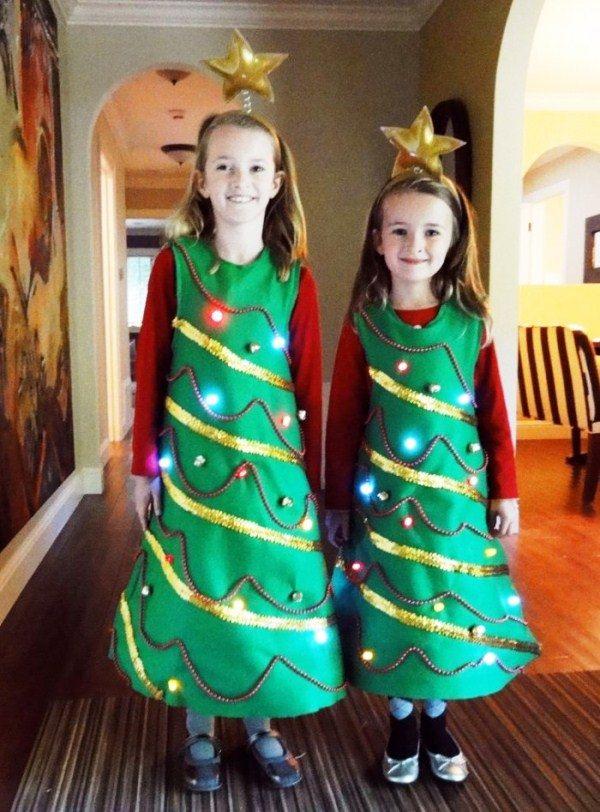 костюм елочки для девочки на новый год фото 16